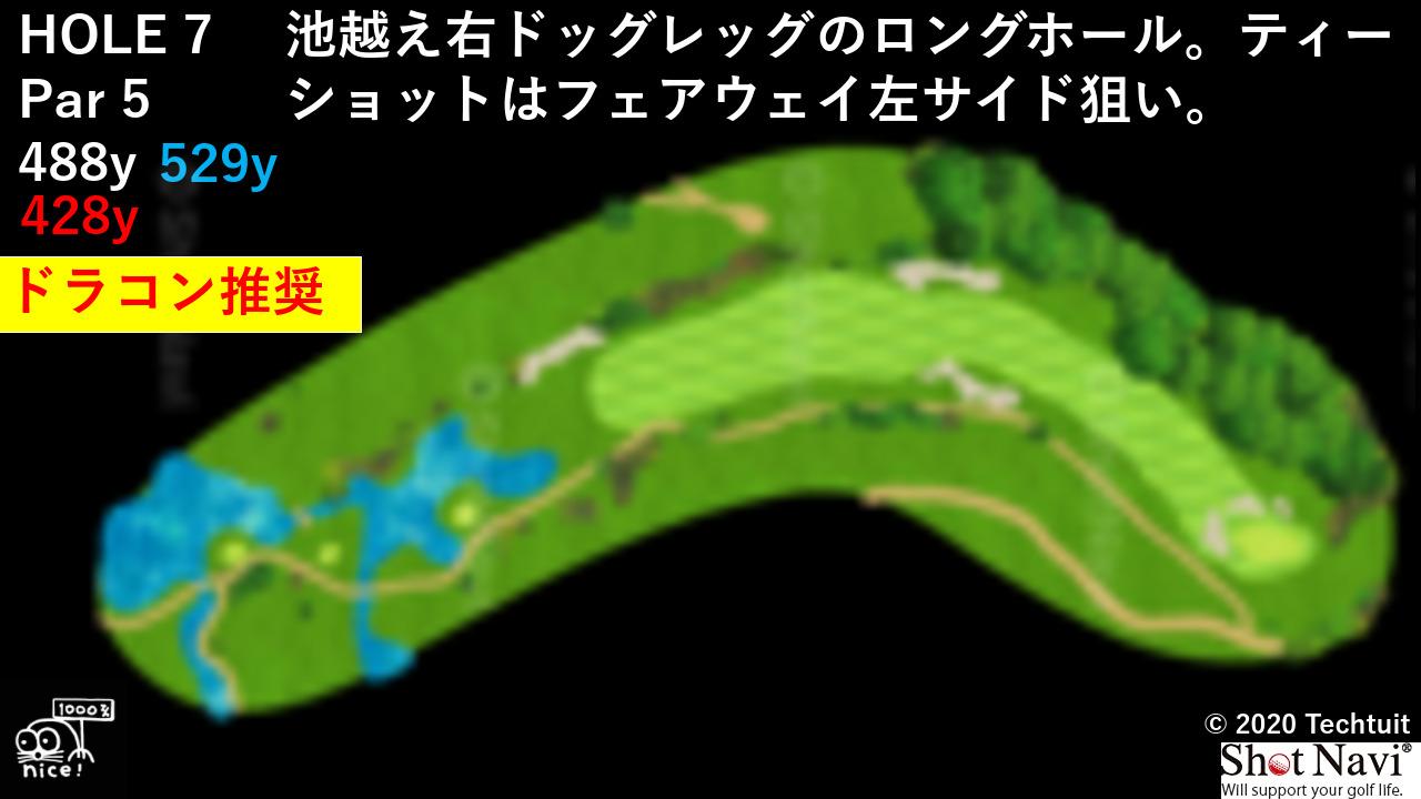 クマヨラン Hole7