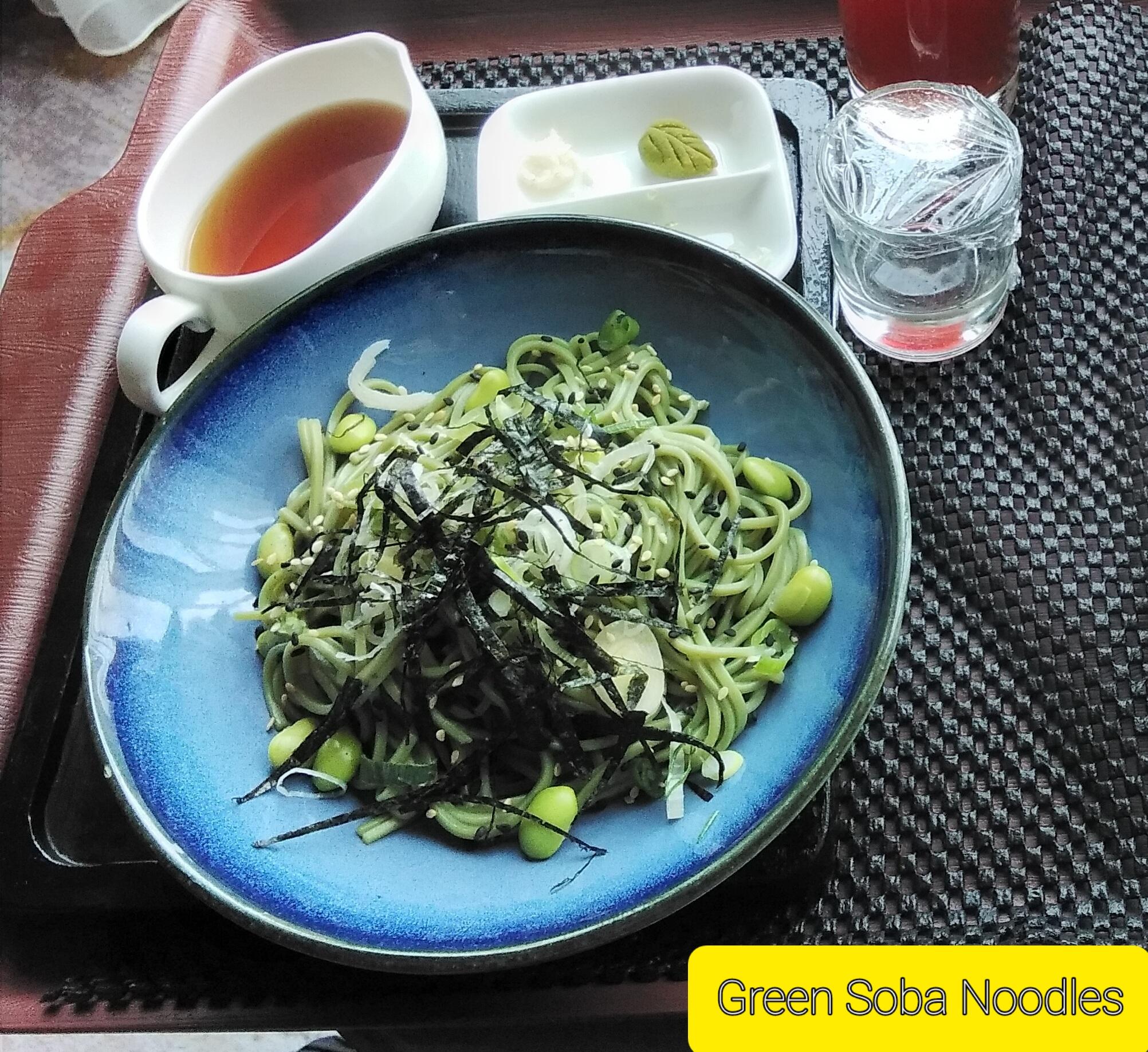Green Soba Noodles