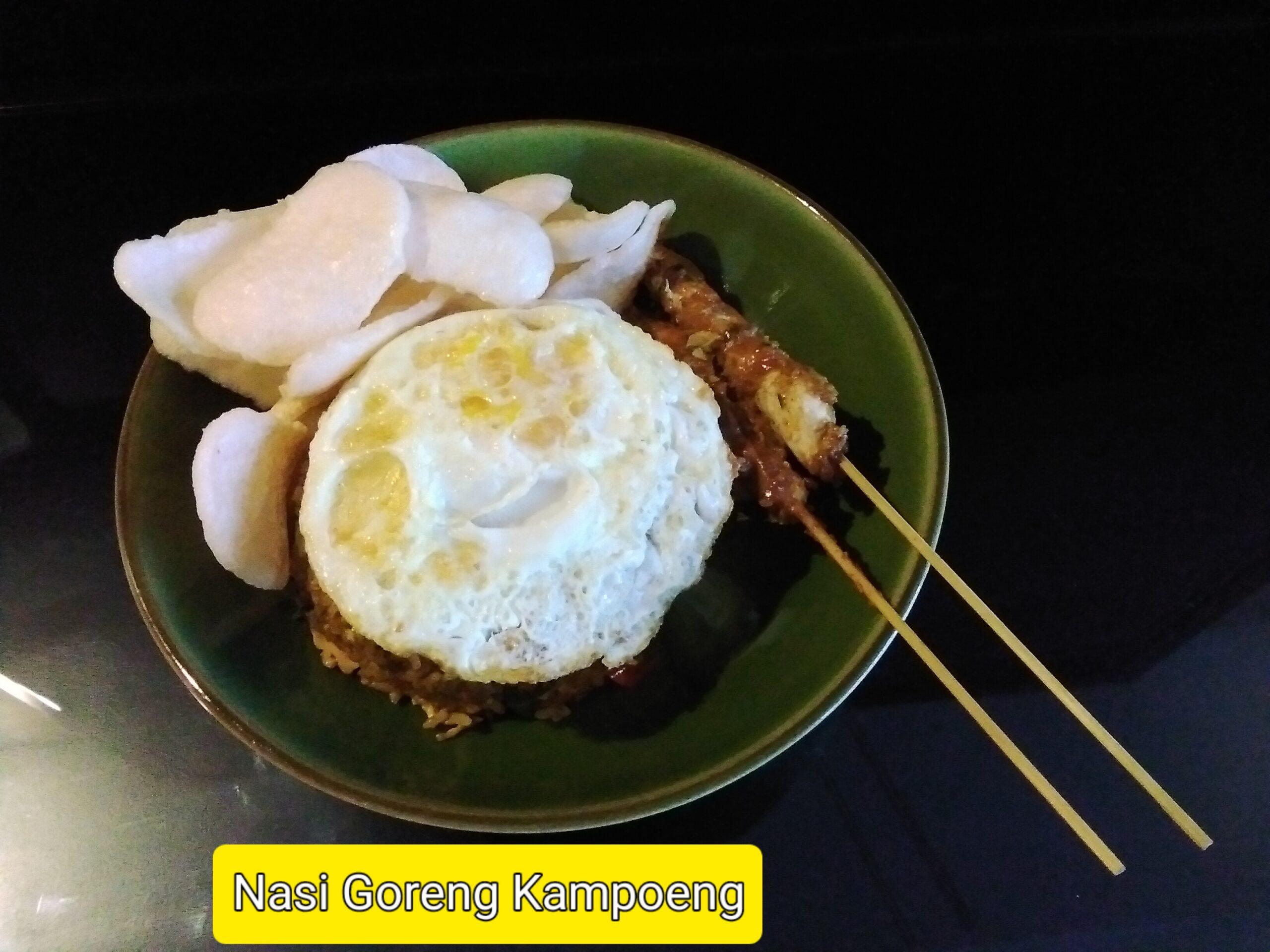 Nasi Goreng Kampoeng