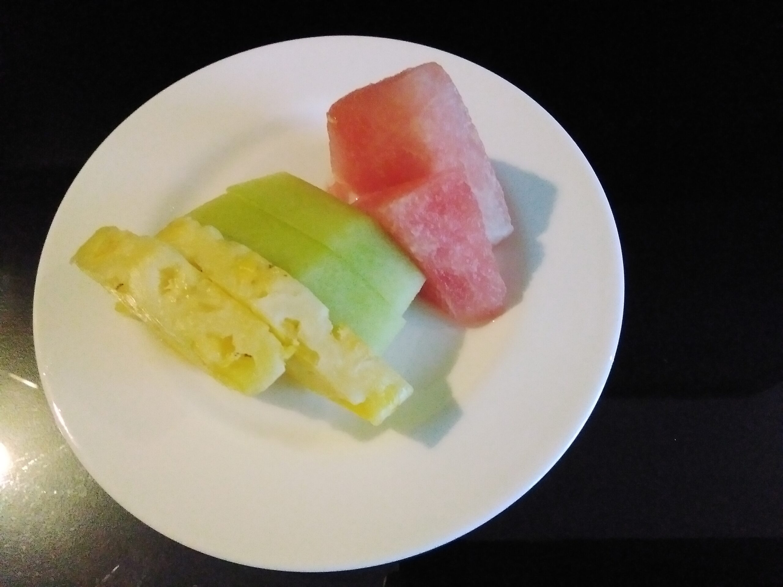 Sliced Tropical Fruits