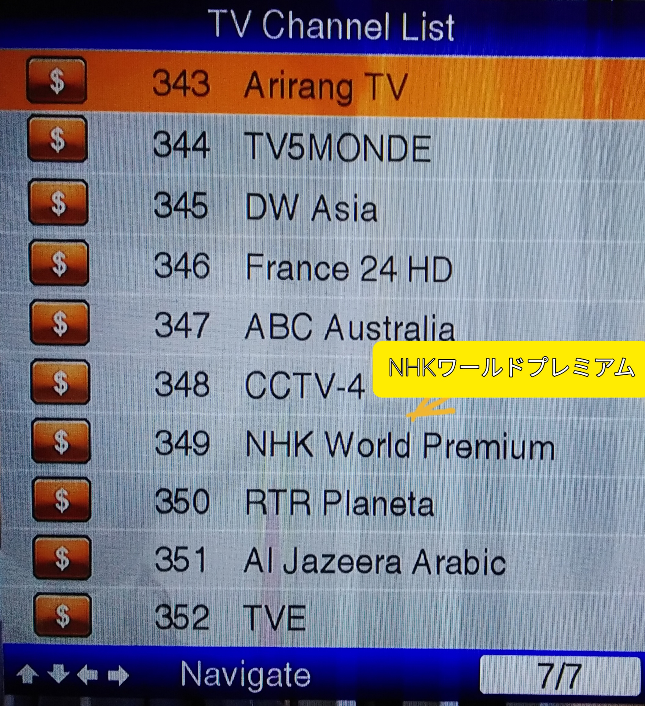 AYANA TV CHANNEL7